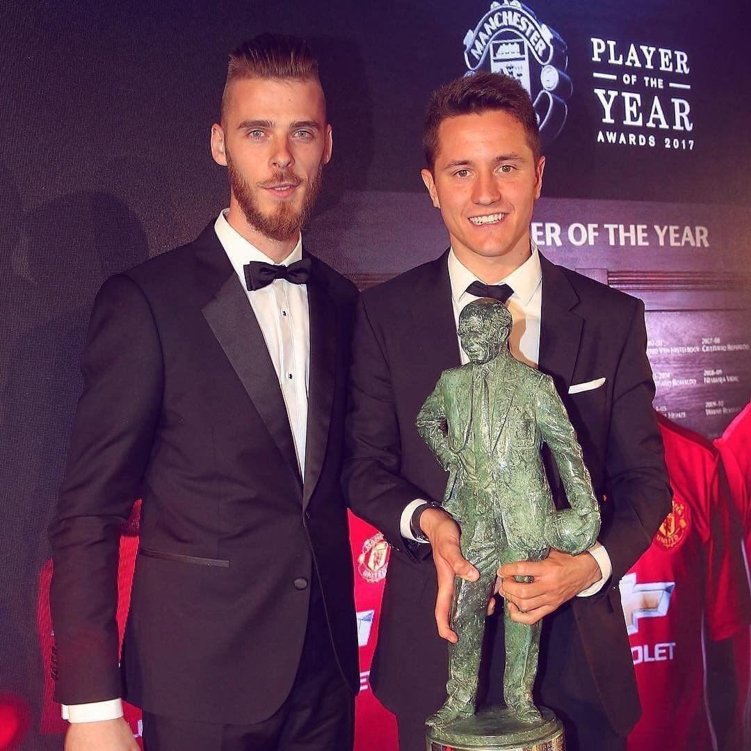Lucas Moura West Ham: Manchester United : Ander Herrera élu Joueur De L'année