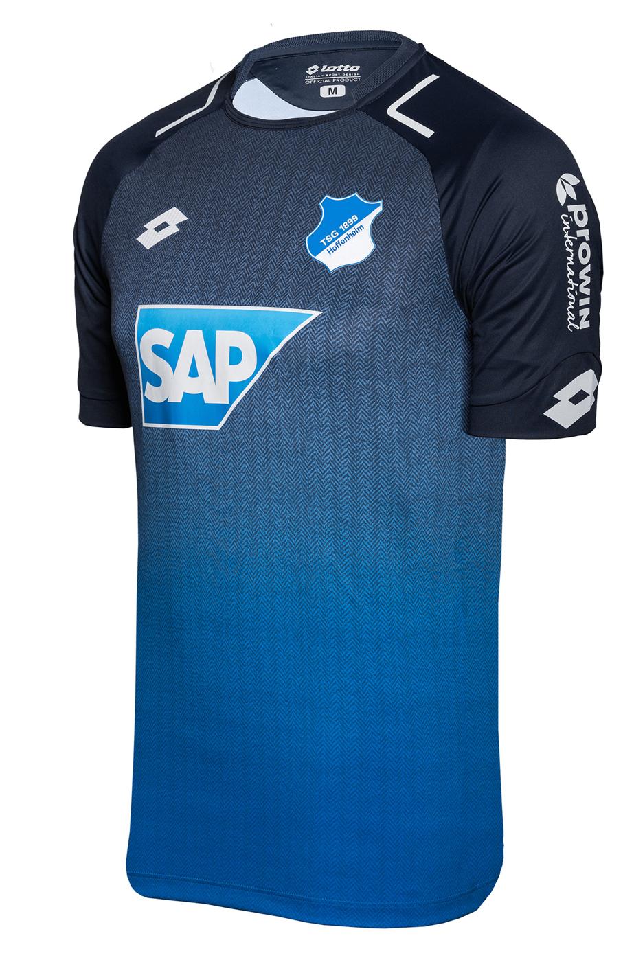 Maillot Domicile TSG 1899 Hoffenheim saison 2017-2018