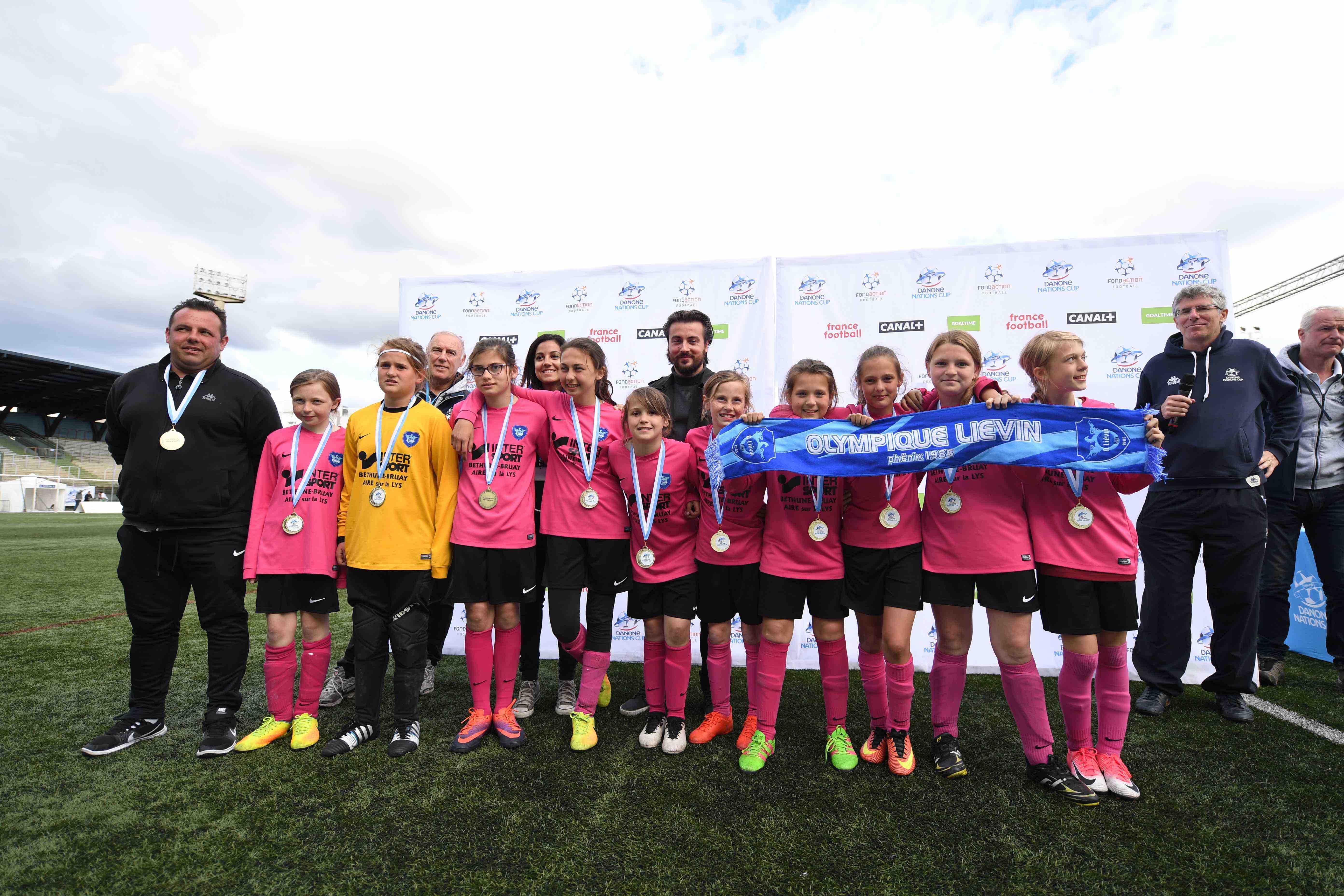Olympique Lievin féminin - Crédit Danone