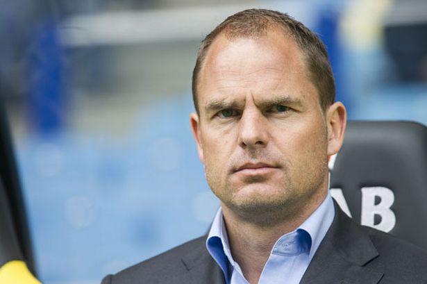 Frank de Boer futur coach du FC Bruges ?