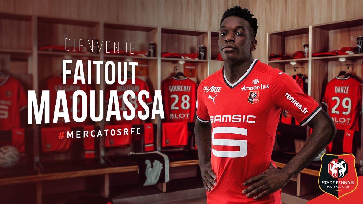 Faitout Maouassa - site officiel du Stade Rennais