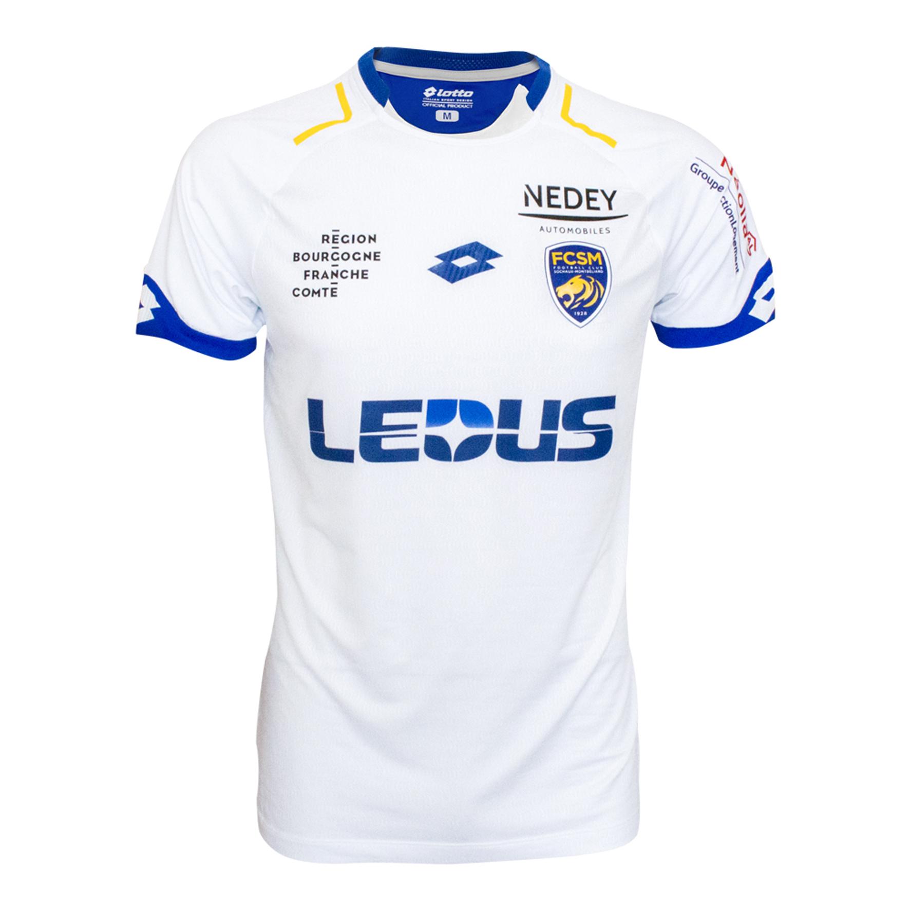 Lotto présente les nouveaux maillots du FC Sochaux - Montbéliard pour la saison 2017-2018