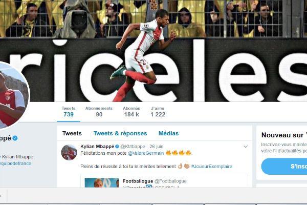 Mercato - AS Monaco : un message subliminal signé Kylian Mbappé
