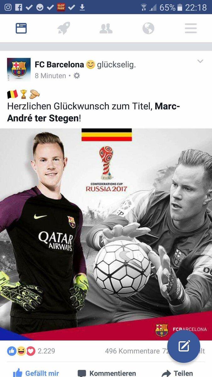 Quand le Barça confond les drapeaux Allemand et Belge