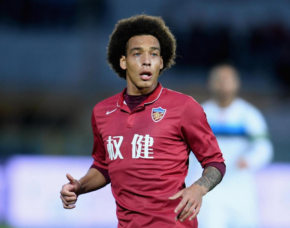 Axel Witsel - The Sun