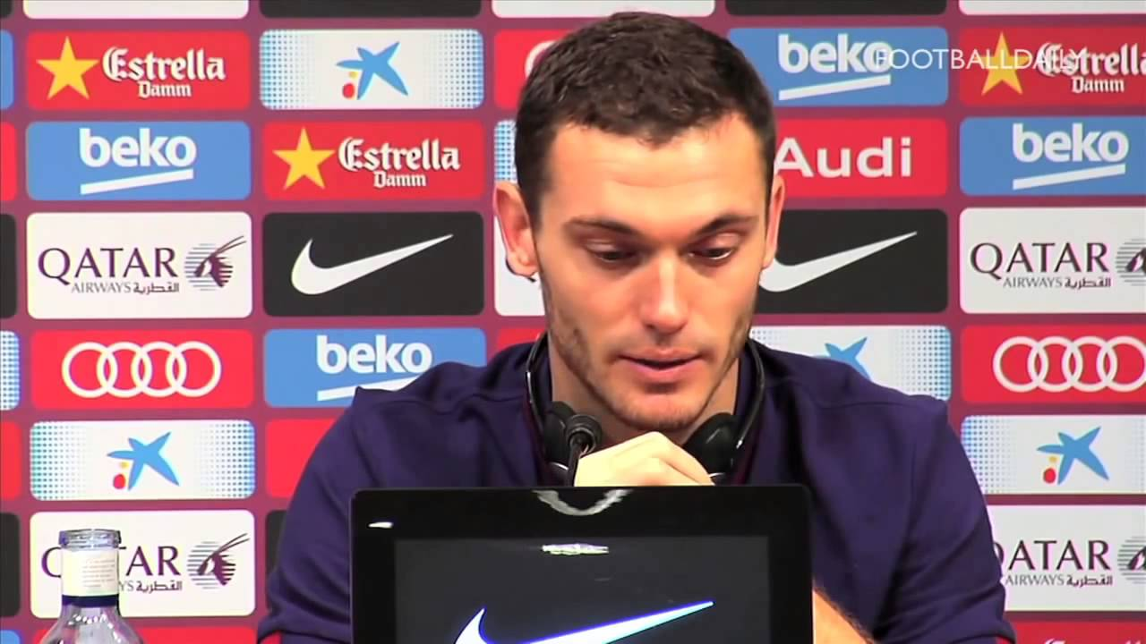 Mercato - Barça : direction Crystal Palace pour Thomas Vermaelen ?