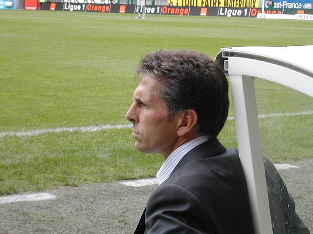 Claude Puel - photo Wikipedia