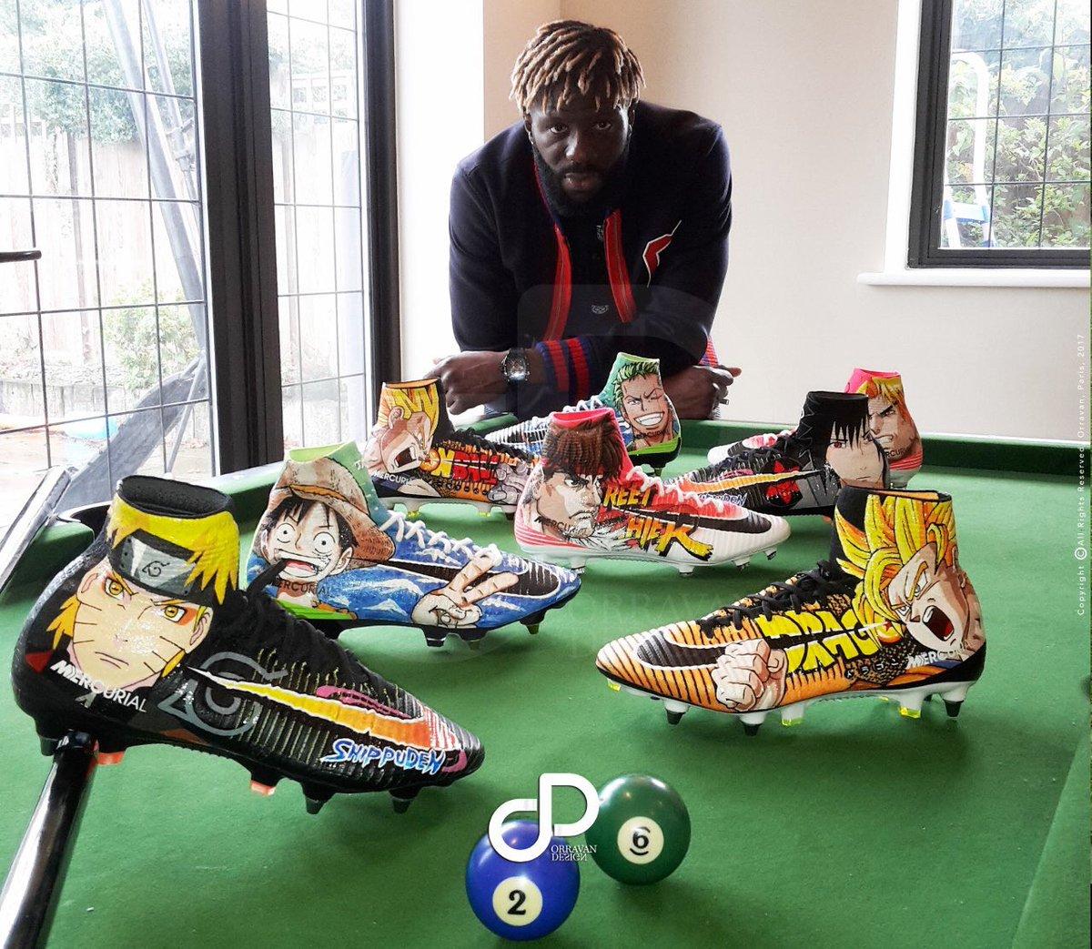 """Crystal Palace : Les crampons """"Mangas"""" de Bakary Sako"""