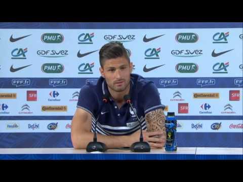 EdF : le petit coup de pression de Deschamps à Giroud