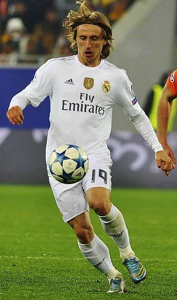 Luka Modric - Crédit : Wikipedia