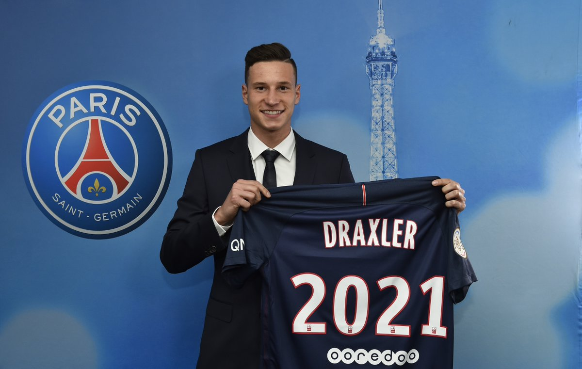 Mercato PSG : Julian Draxler affole la Premier League !