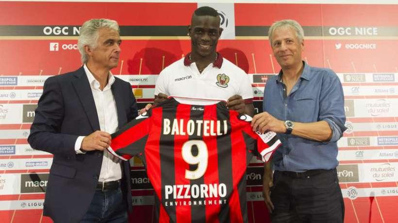 Mercato : Mario Balotelli se sent bien à Nice mais n'exclut pas un départ