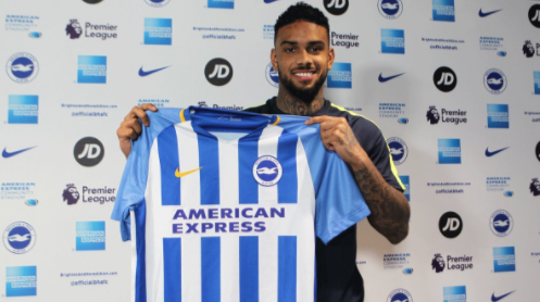 Jürgen Locadia signe à Brighton - thesun.co.uk