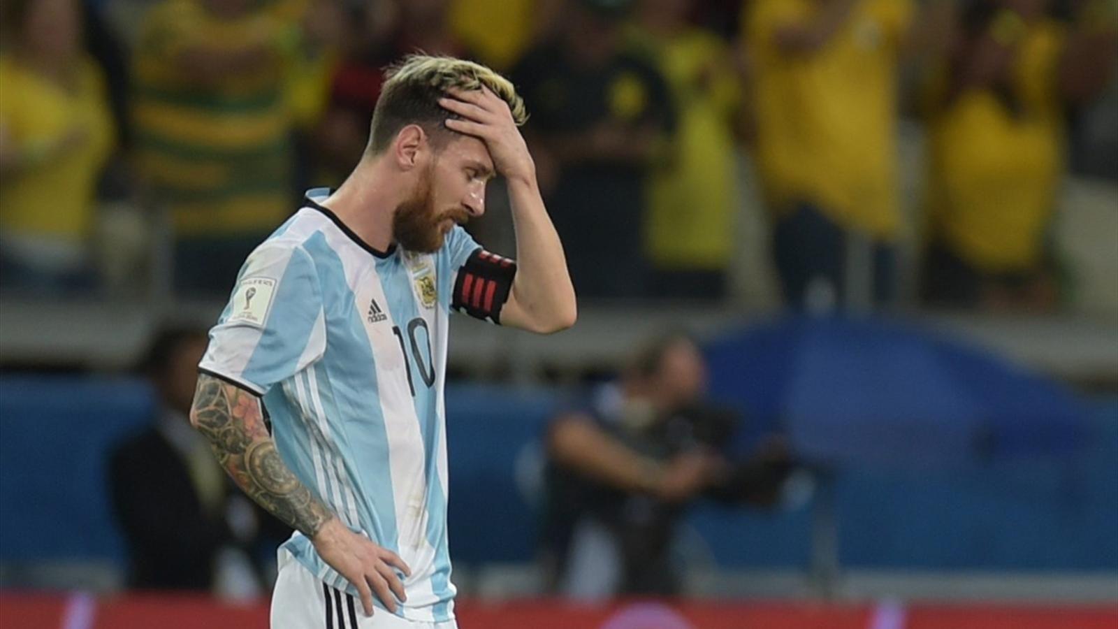 Lionel Messi - Capture écran Eurosport
