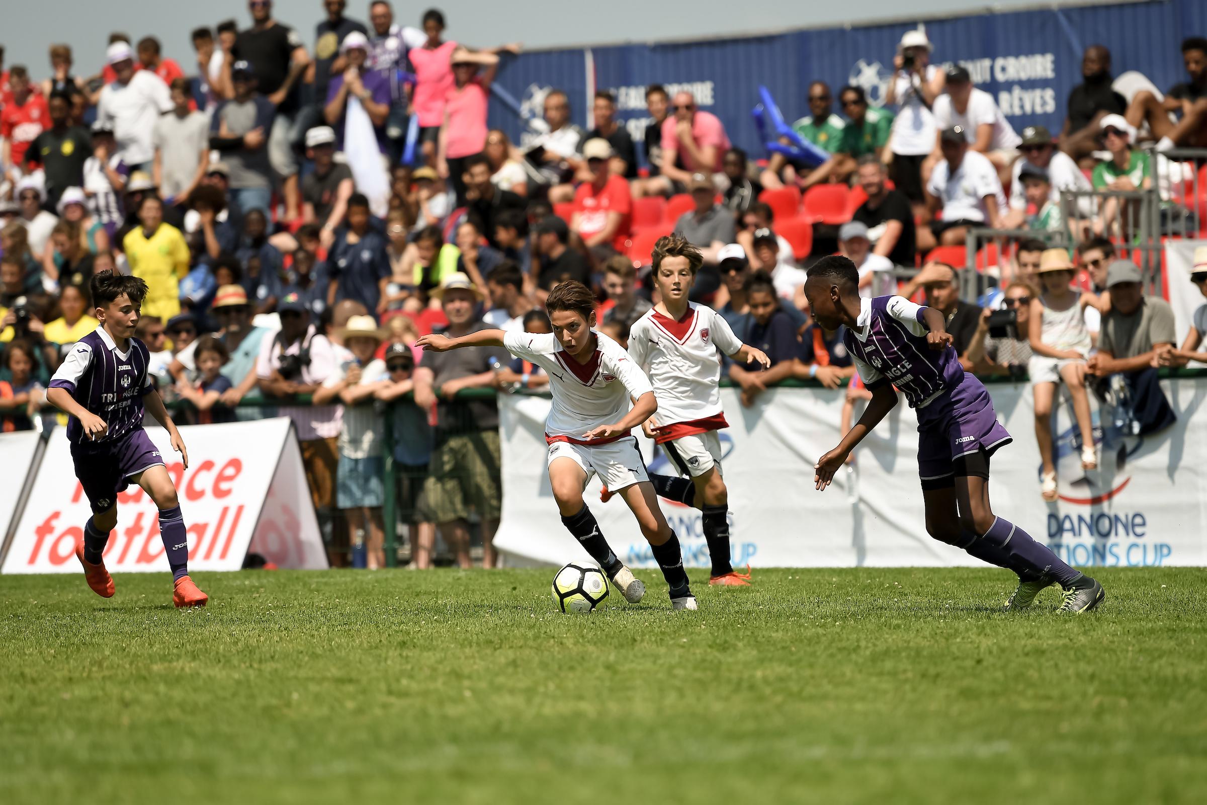 Finale Nationale de la Danone Nations Cup 2018 à Montpellier le 20 mai