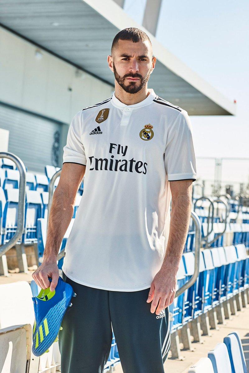 Adidas dévoile les maillots saison 2018-2019 du Real Madrid
