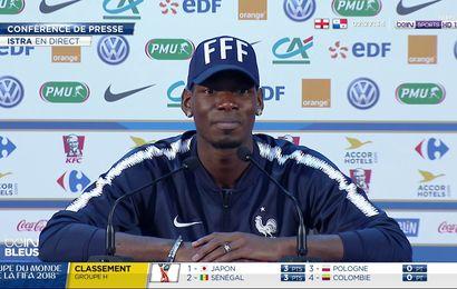 CM2018 EdF : pour Pogba, Evra manque à l'équipe de France