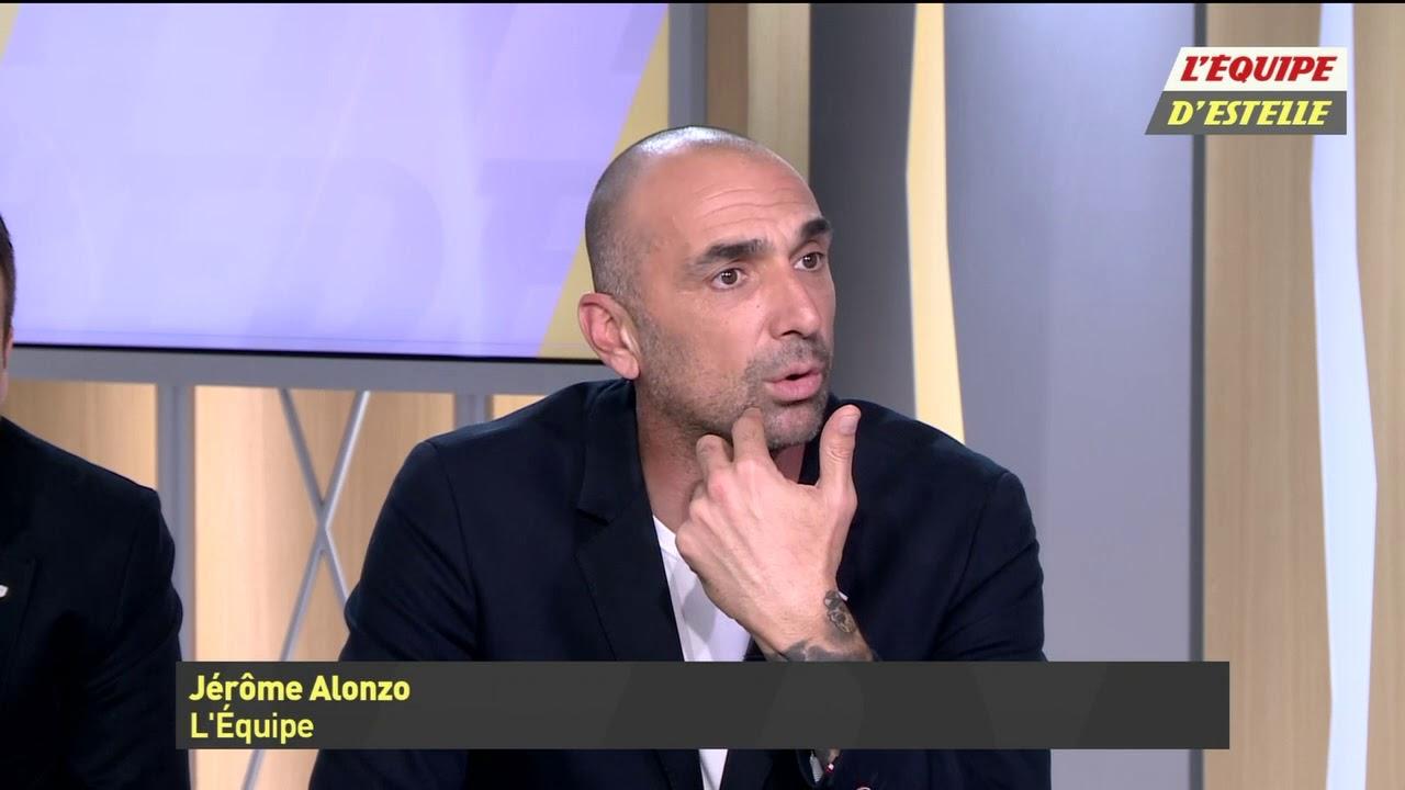 Jérôme Alonzo - Capture écran la chaîne L'Equipe