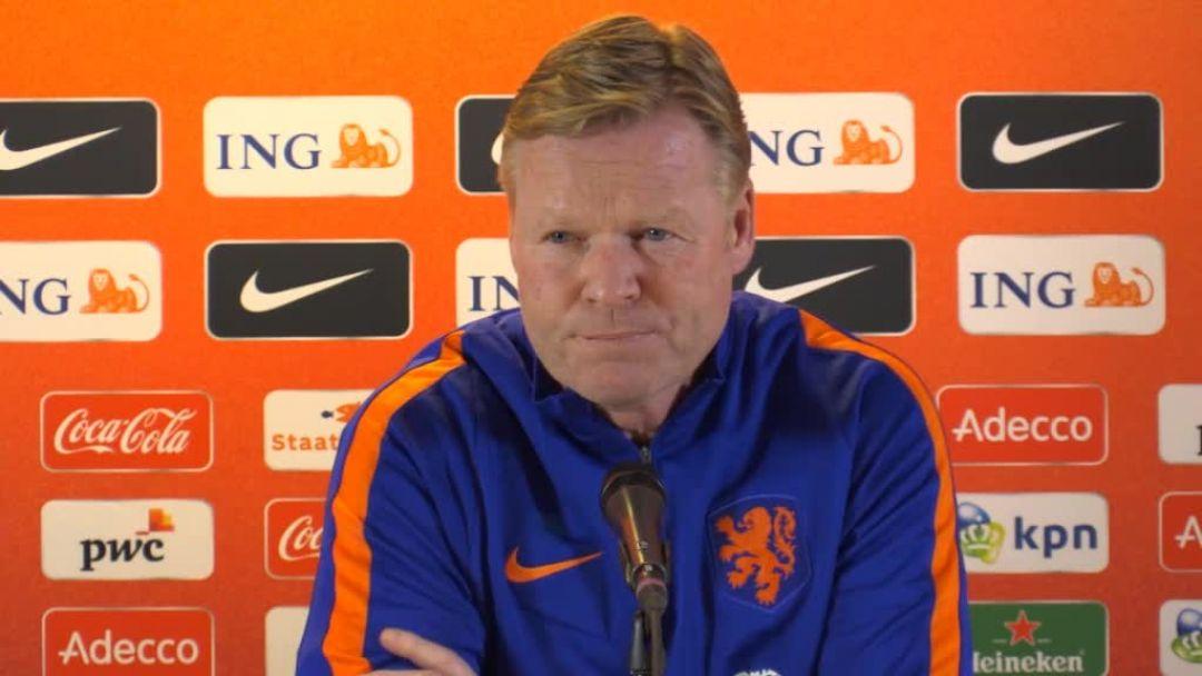 Pays-Bas :  Ronald Koeman met à l'amende Virgil van Dijk