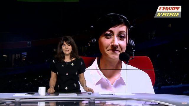 Candice Rolland : Capture écran L'Equipe