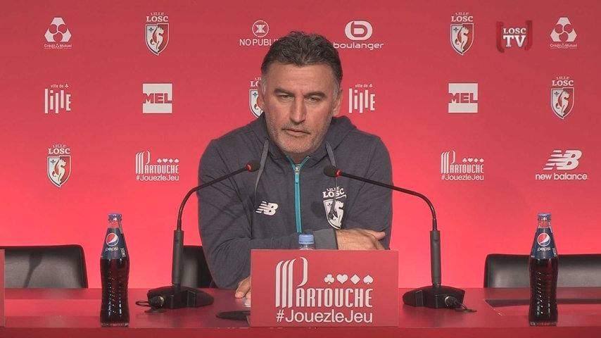 LOSC : pour Galtier, le PSG manque d'adversité en Ligue 1