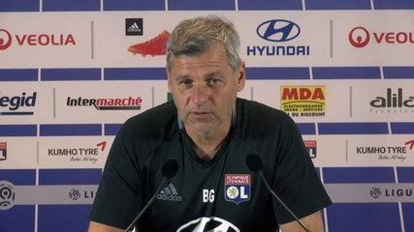 OL : Génésio s'énerve en conférence de presse