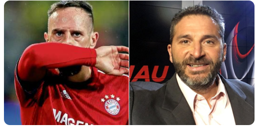 Bayern Munich : Ribéry a frappé le consultant foot BeIN Sport, Patrick Guillou