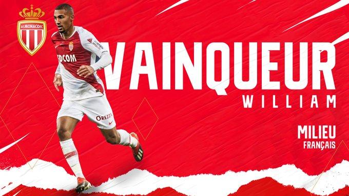 OFFICIEL : William Vainqueur signe finalement à Monaco !