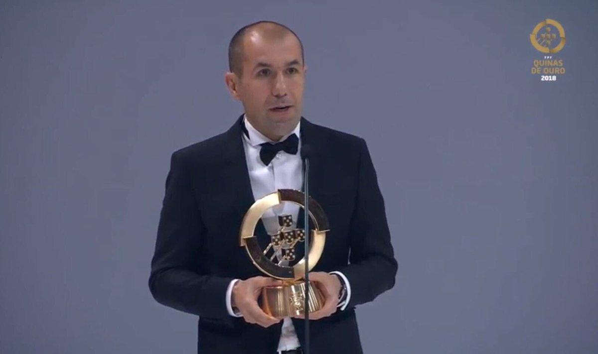 Leonardo Jardim élu meilleur entraîneur portugais en 2017