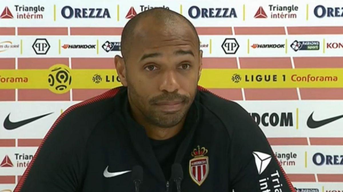 AS Monaco : le discours peu convaincant de Thierry Henry