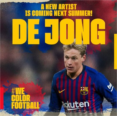 OFFICIEL : Frenkie de Jong va rejoindre le FC Barcelone