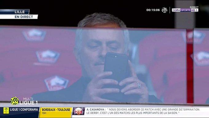 José Mourinho se verrait bien en Ligue 1