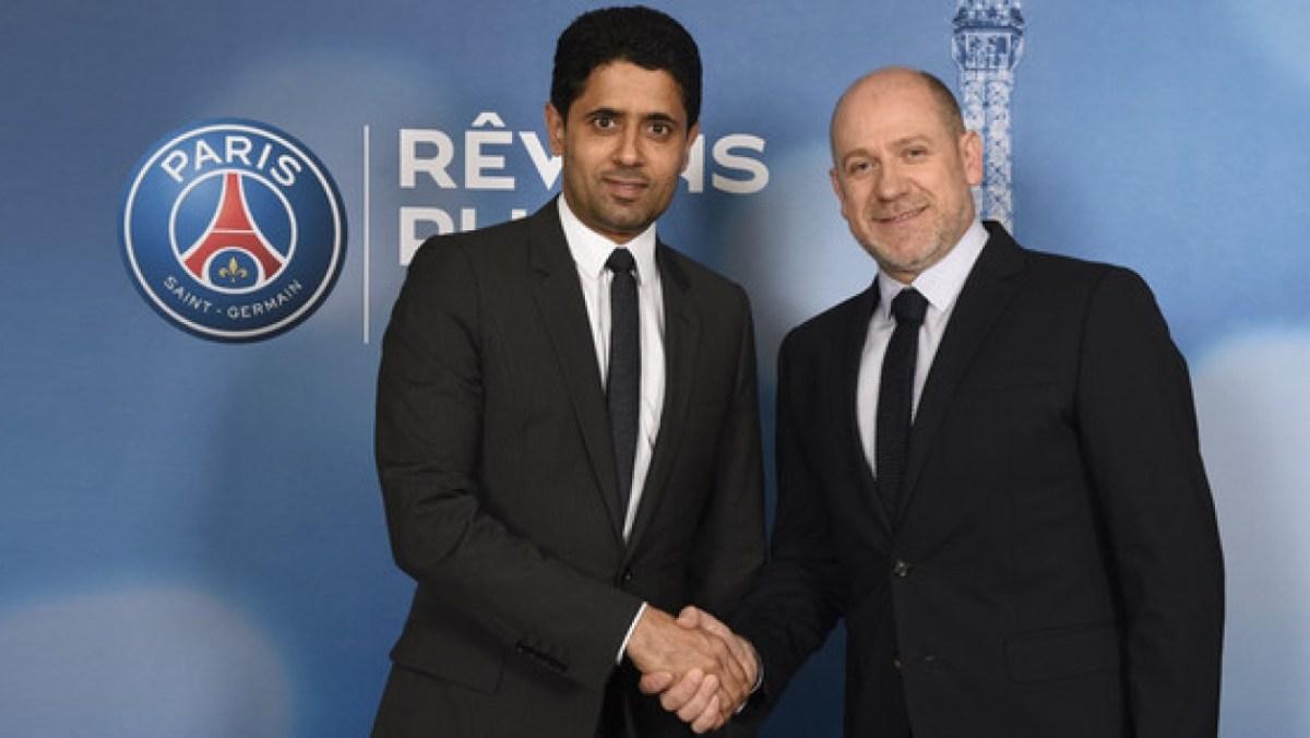 Nasser Al-Khelaifi et Antero Henrique - Paris United