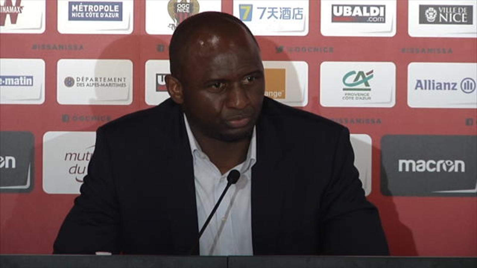 OM - OGC Nice : Vieira glisse un petit tacle à Balotelli