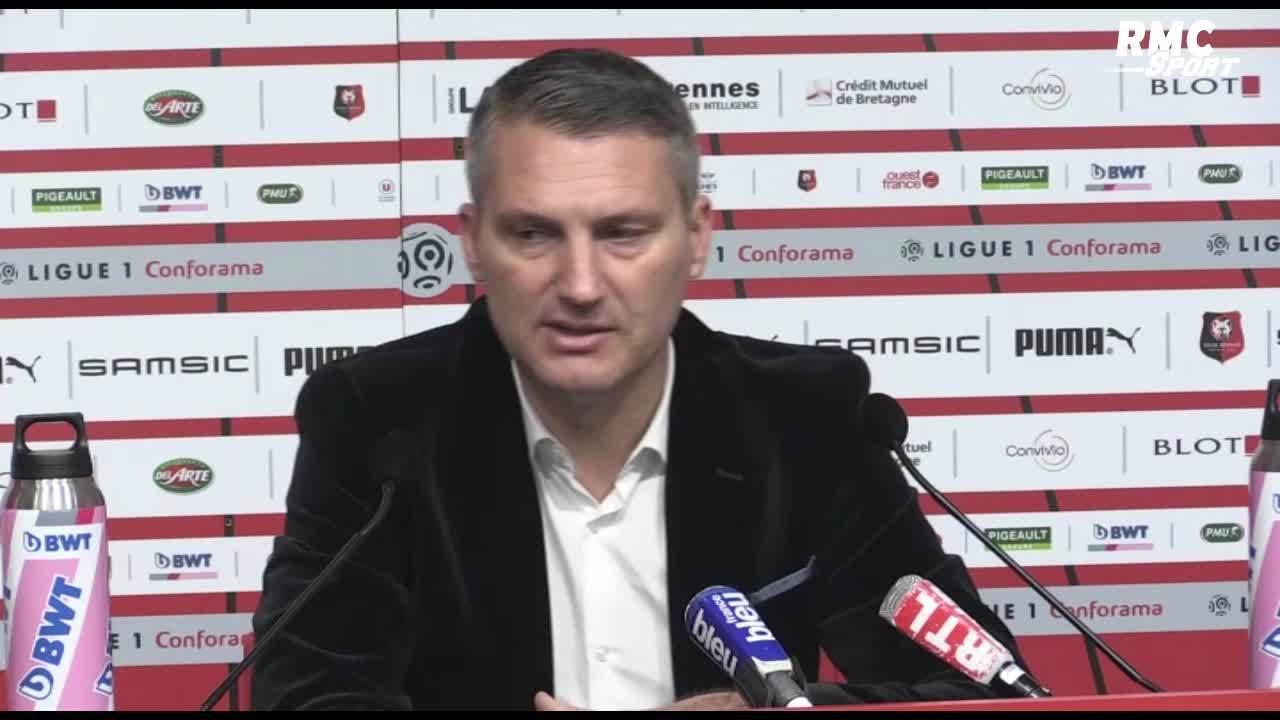 Rennes : Létang allume violemment ses joueurs !