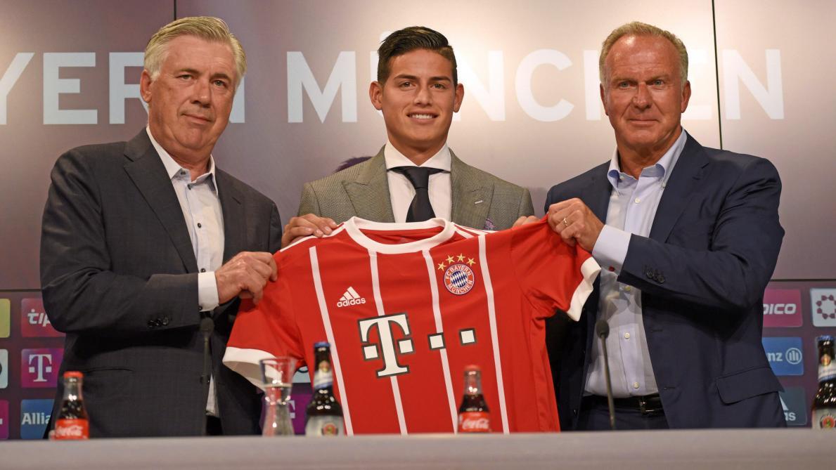 Bayern Munich : James Rodriguez va retourner au Real Madrid