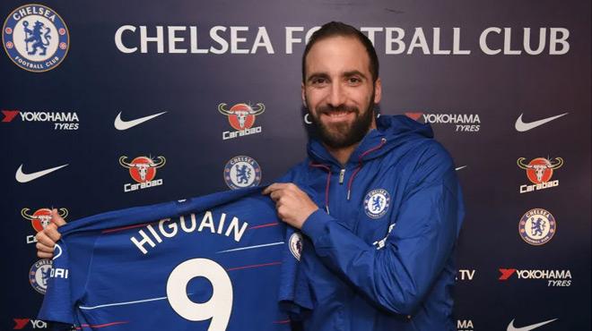 Chelsea : Higuain ne sera pas conservé