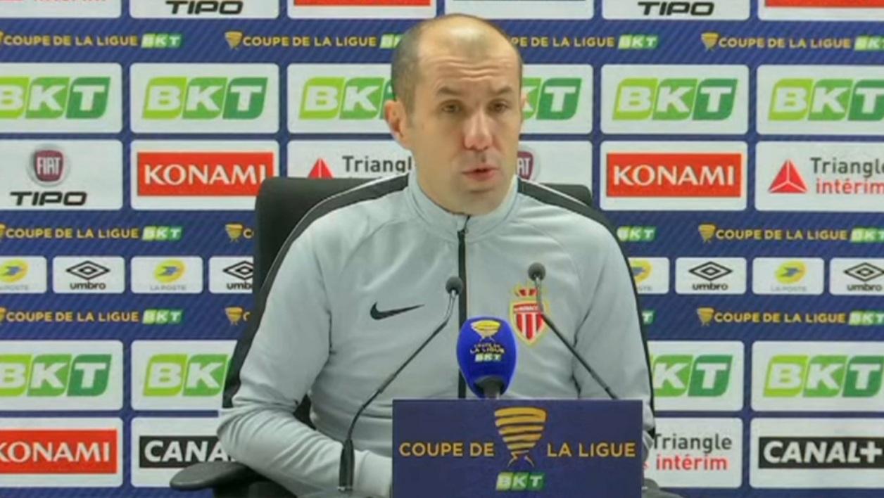 AS Monaco : Jardim pas rassuré avant la réception d'Amiens