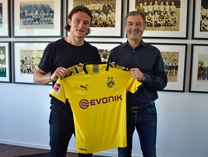 Nico Schulz (Hoffenheim) signe au Borussia Dortmund