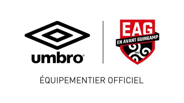 Umbro devient l'équipementier officiel de l'En Avant Guingamp