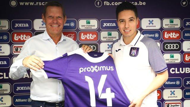 Samir Nasri explique pourquoi il a rejoint Anderlecht