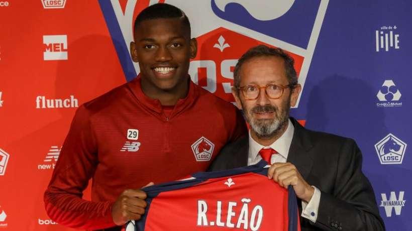 LOSC - Mercato : le chant du départ pour Rafael Leao