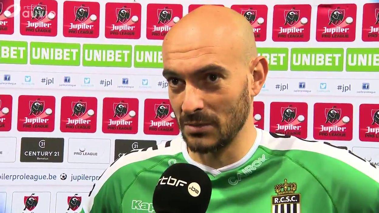 Le gardien de Charleroi, Rémy Riou - Crédit : RTBF