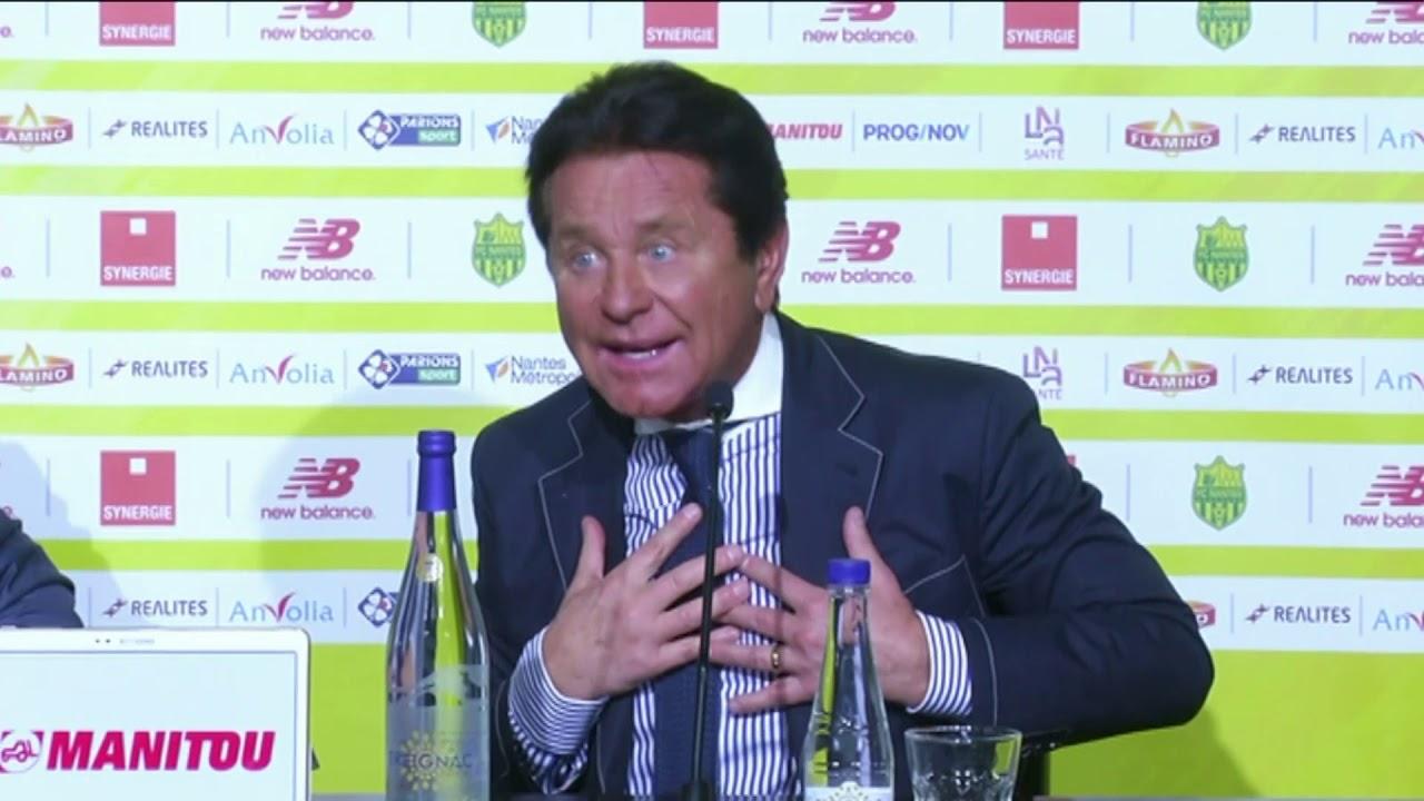 FC Nantes : Waldemar Kita parle d'un départ