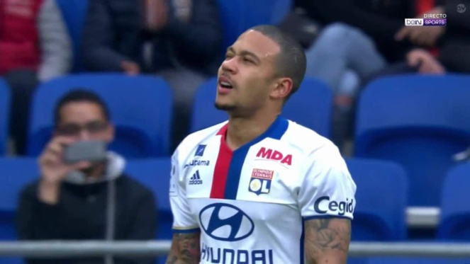 OL - Nice : Depay de retour avec Lyon