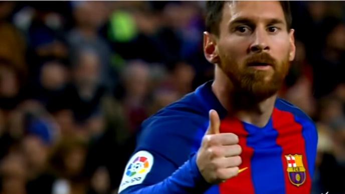 Barça : Lionel Messi du FC Barcelone