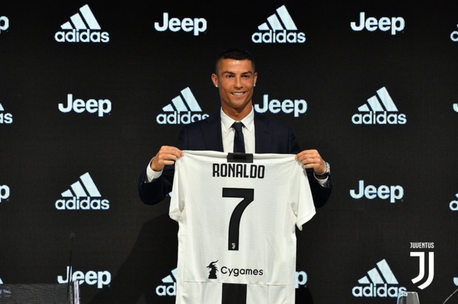 Juve, Réal : Cristiano Ronaldo de la Juventus Turin