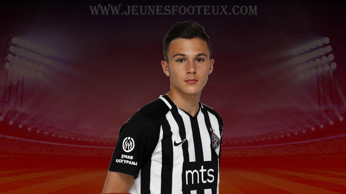 OGC Nice - Mercato : grosse offre au Partizan Belgrade pour Filip Stevanovic !