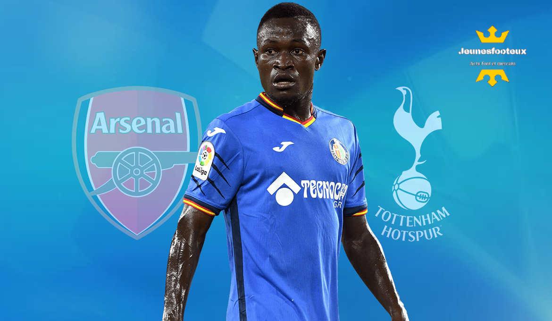 Mercato - Arsenal et Tottenham à la lutte pour Djené Dakonam (Getafe)