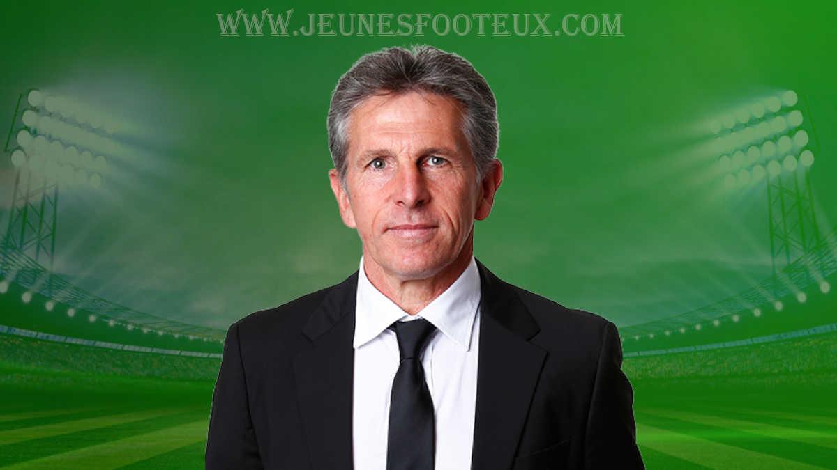 Claude Puel, entraîneur de l' ASSE - AS Saint-Etienne